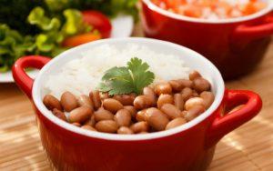 Рис и фасоль