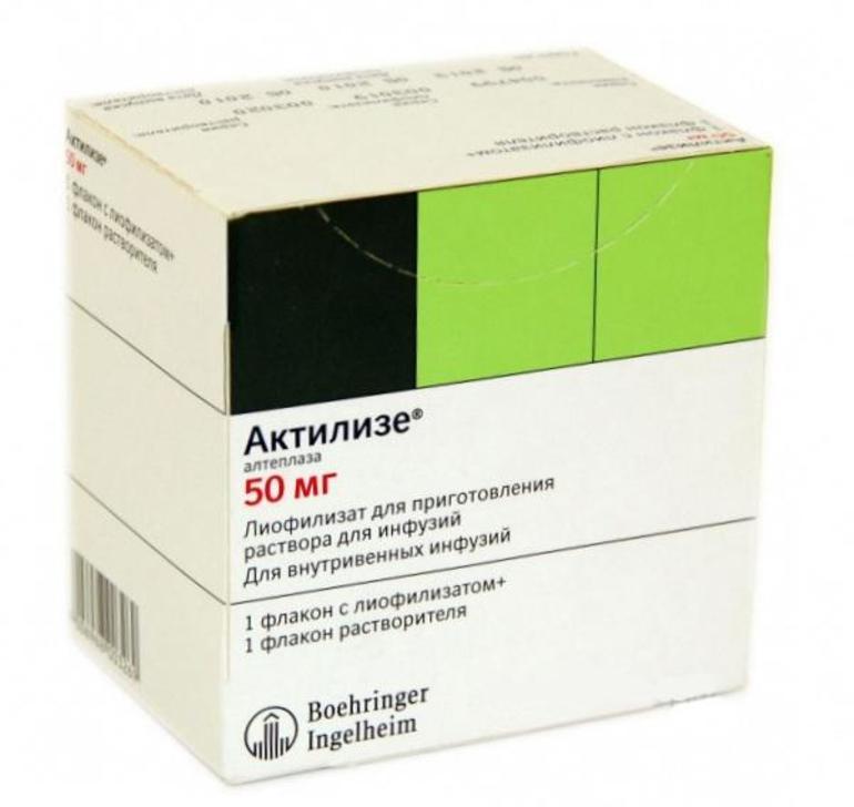 Фармакологические свойства препарата Алтеплаза