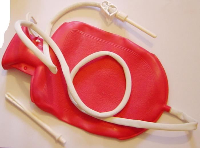 Очистительная клизма перед УЗИ печени, желчного пузыря, поджелудочной железы