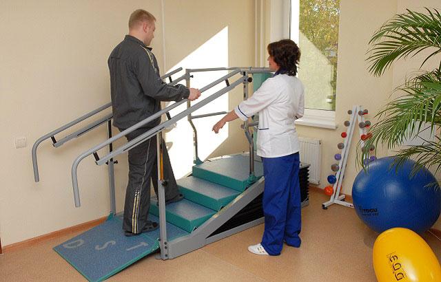 упражнения с лестницей