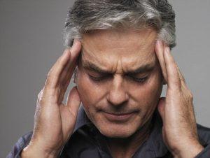 Может проявляться в виде головной боли