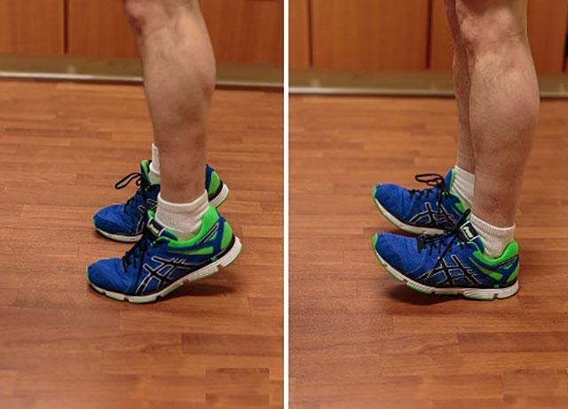 упражнения 4 и 5 для стоп и голеностопных суставов