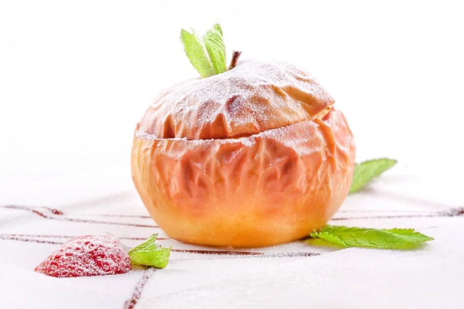 Рецепт запеченных яблок для лечения печени и поджелудочной железы