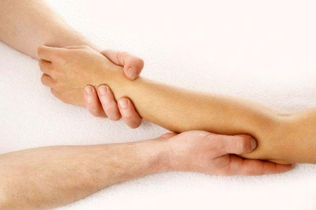 массаж при бурсите локтевого сустава
