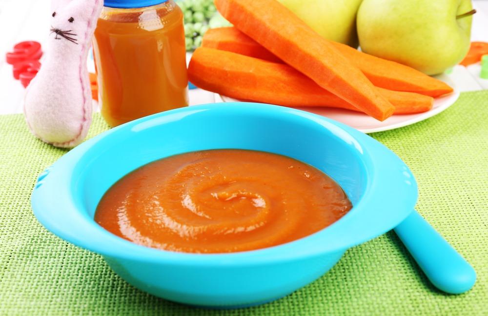 Морковное пюре в меню при увеличенной печени