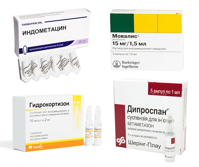 лекарственные препараты для лечения тендинита
