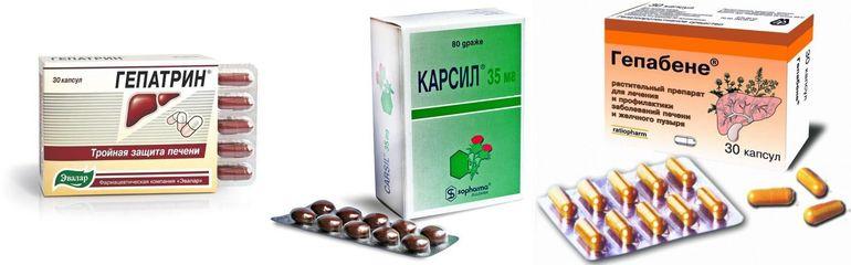Чем заменить препарат Гепатрин