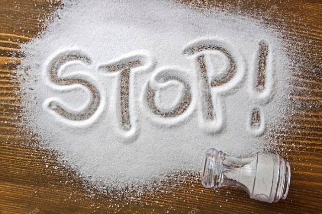 ограничение употребления соли