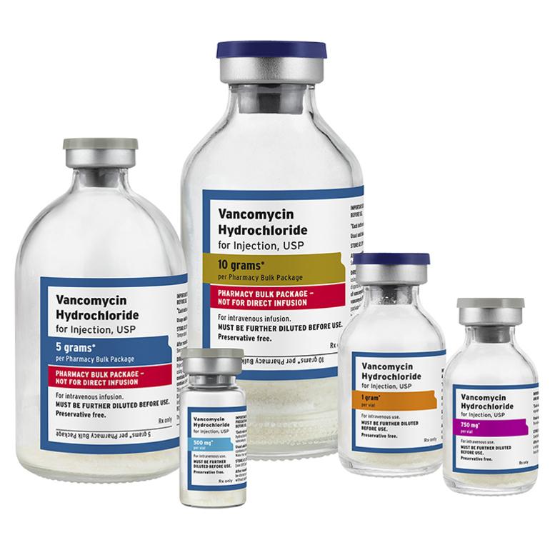 Ванкомицин антибиотик