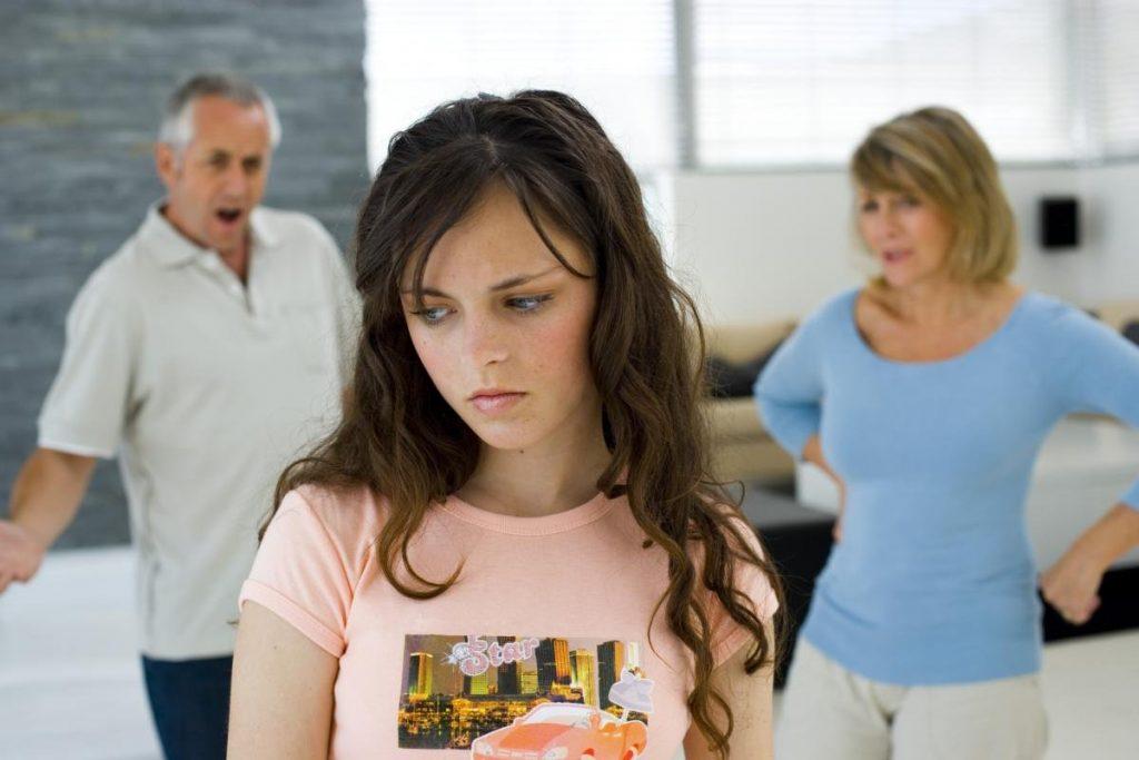 проблемы с родителями у подростка